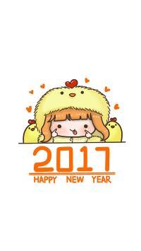 2017 happy new year 鸡年 春节