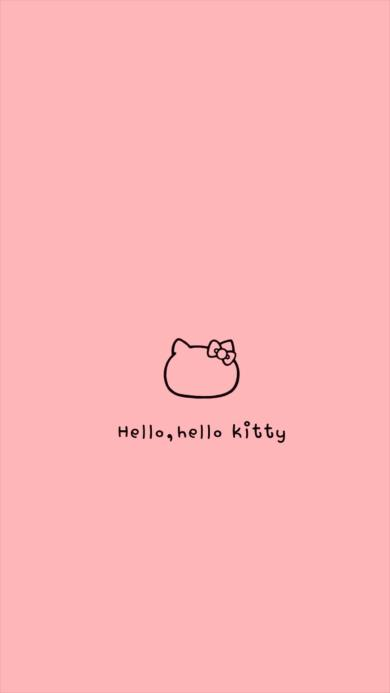 字母 hellokitty hello kitty 动漫 粉色