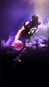 科比 布莱恩特 NBA 球星 篮球 彩色