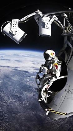 创意 科幻 地球 宇宙 宇航员