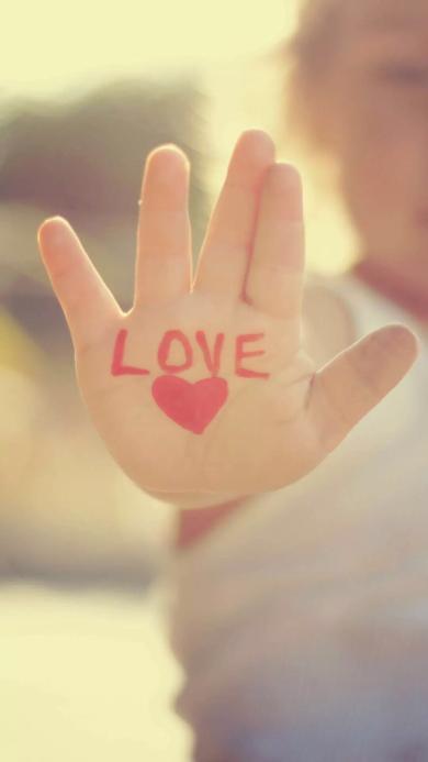 LOVE 爱心 手心 爱情