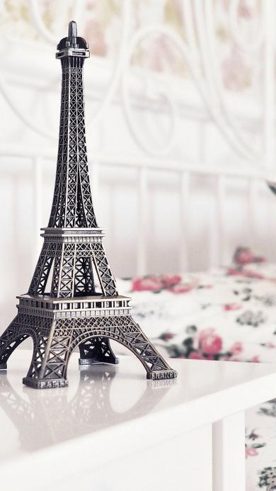巴黎铁塔 装饰 唯美意境