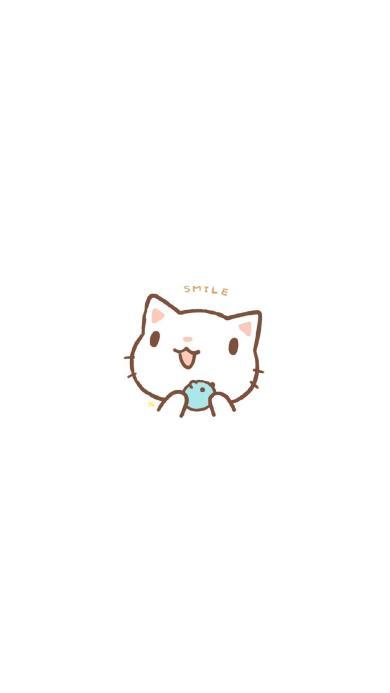 卡通 猫咪 动漫 天生一对 彩色 smile