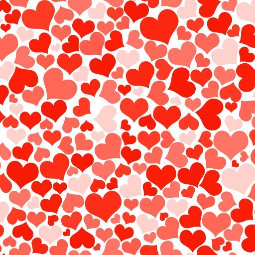 爱心 平铺  爱情 红色 浪漫
