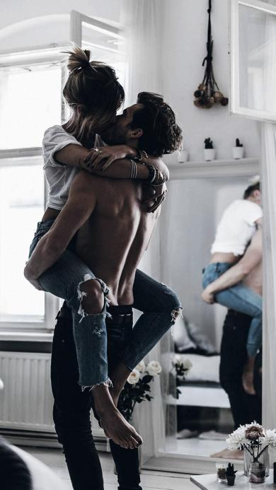 爱情 情侣 欧美 拥抱 亲吻