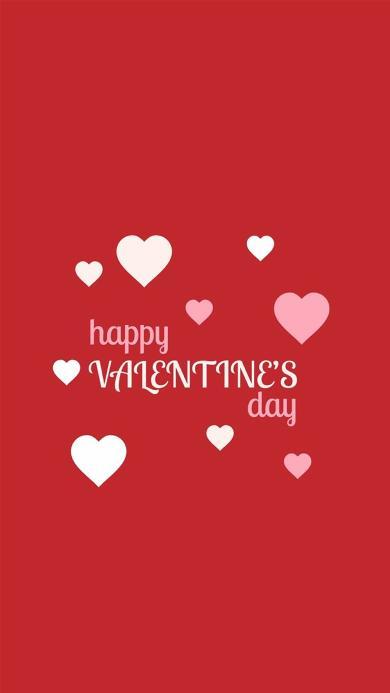 情人节快乐 红色 爱心 爱情