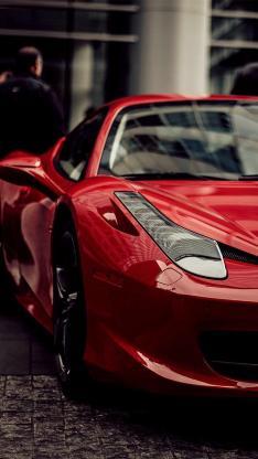 赛车 跑车 名车 红色