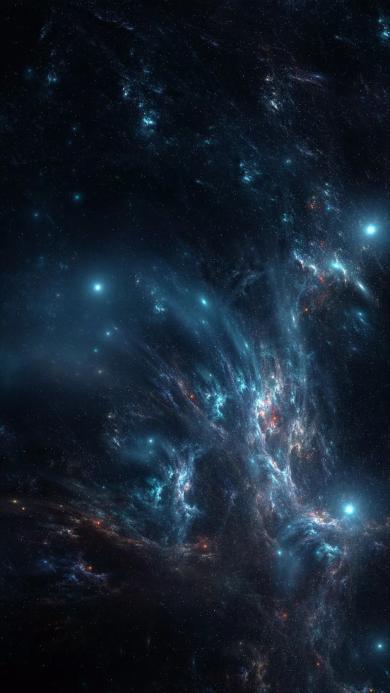 宇宙 星空 风景 彩色