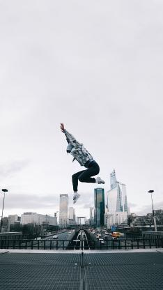 跳跃 弹跳力 城市 空地