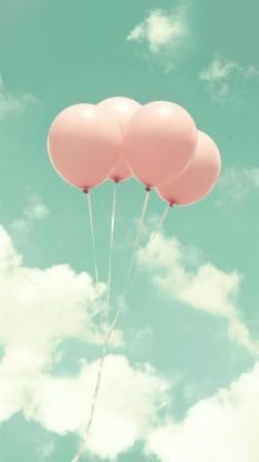 气球 创意 蓝天 白云