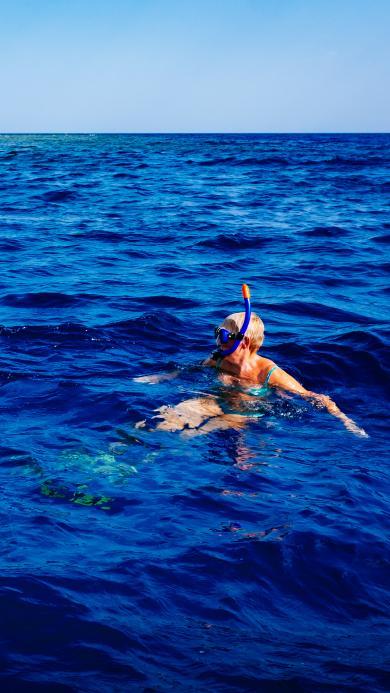 游泳 大海 蓝色 运动 潜水