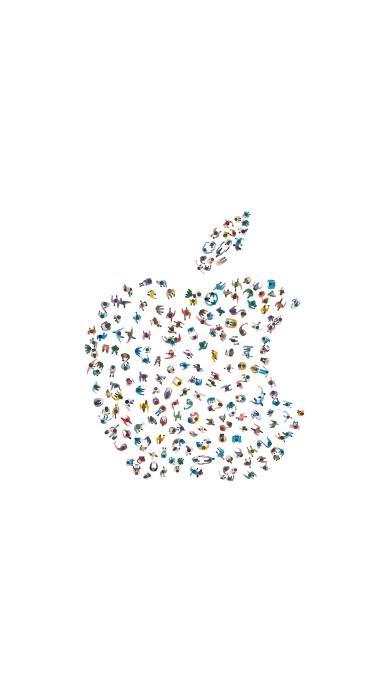 创意 简约苹果 WWDC