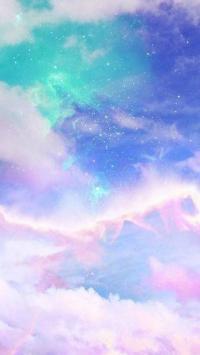 极简 绚丽 星空