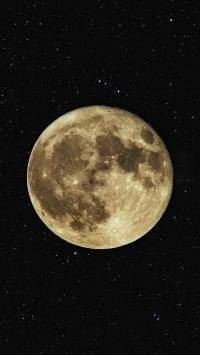 月球 星球 月亮 黑夜