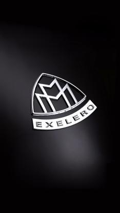 迈巴赫 黑色 logo 标志 exelero 名车