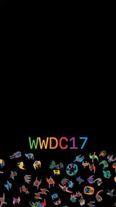WWDC2017 科技 苹果 黑