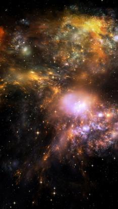唯美 创意 星空 银河