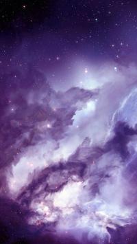 星空 天空 风景 彩色