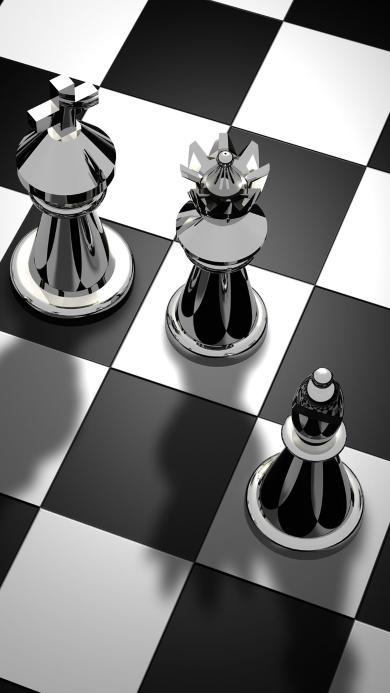 黑白 国际象棋 棋盘