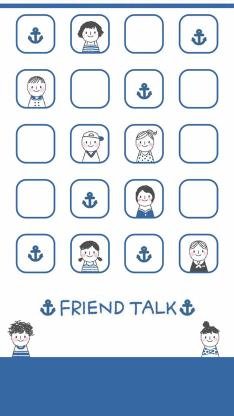 创意 动画 friend talk