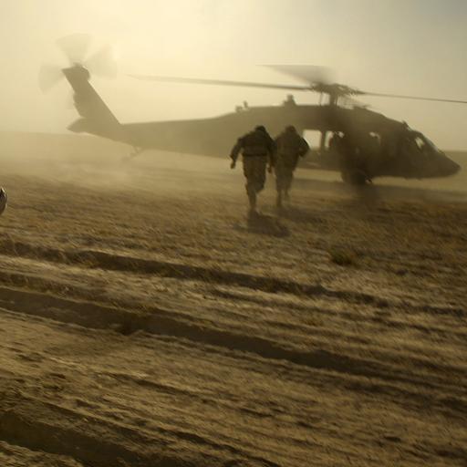 飞机 直升机 部队
