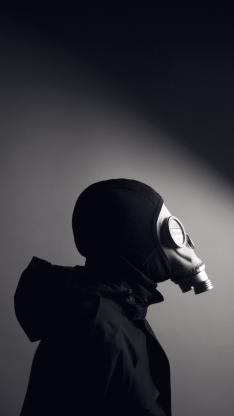 防毒面具 男生 面罩