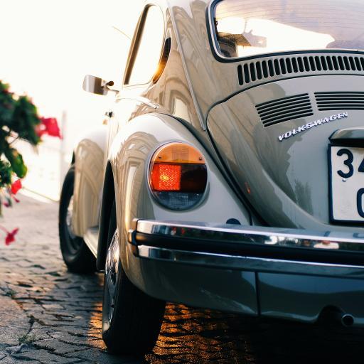 甲壳虫 汽车 车尾