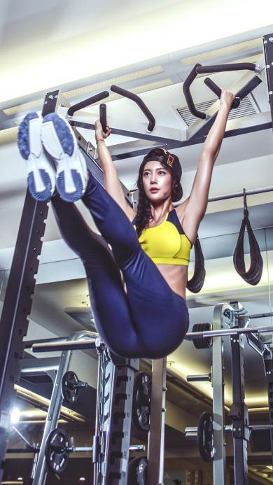 健身 运动 美女 身材