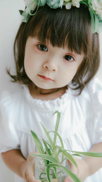 哈琳 萌娃 可爱 小天使
