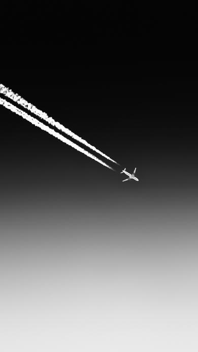 飞机 飞行 军事 航线 黑白