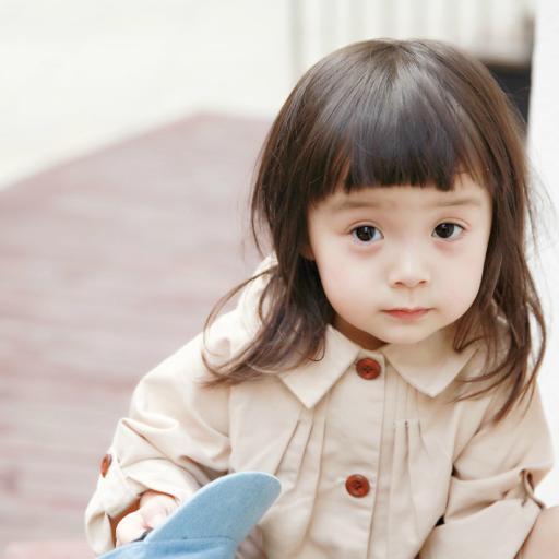 哈琳 萌娃 可爱 时尚小天使