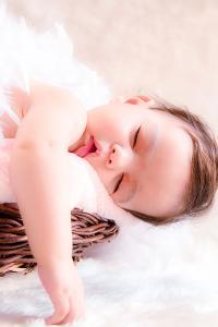 萌娃 宝宝 睡觉 可爱