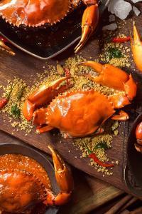 螃蟹 美食 海鲜 食物 动物