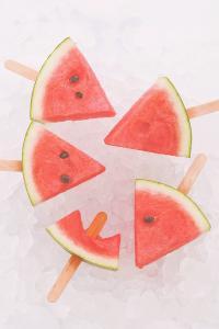 西瓜 水果 冰镇 冰棍 夏天