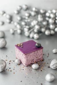 蓝莓小方块蛋糕