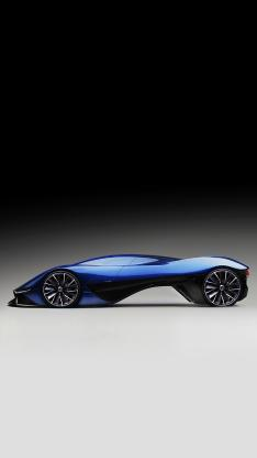 名车 概念车 线条 设计 蓝色 现代