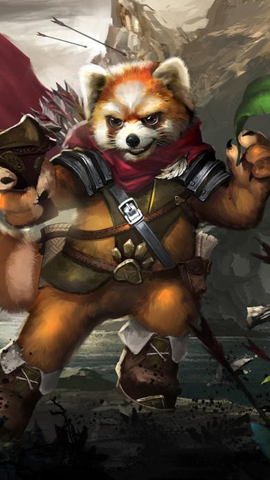 自由之战 游戏 浣熊
