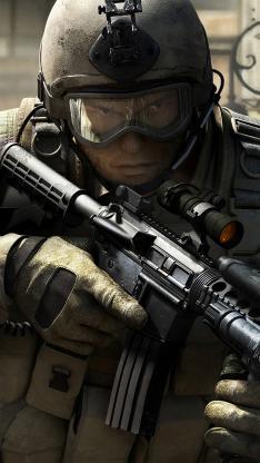 军人 装备 军事 武器 战争 枪