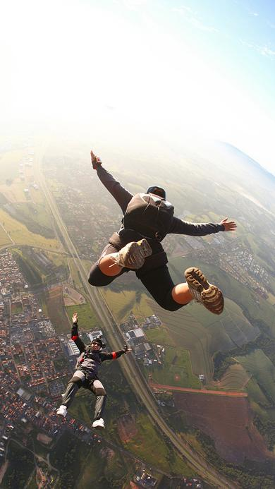 极限运动 跳伞 体育 天空