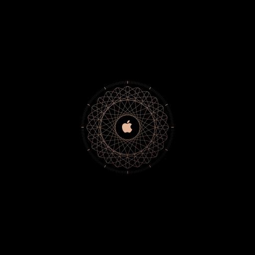 苹果 logo 黑色 创意  标志