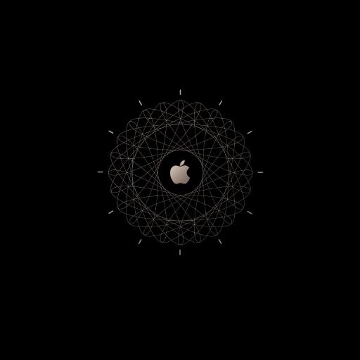 苹果 logo 黑色 标志 创意