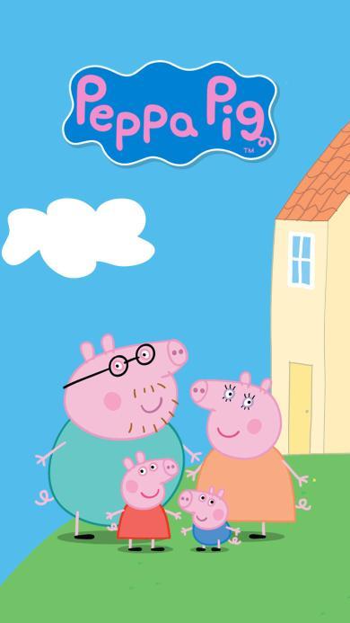 小猪佩奇 peppa pig 动画片 卡通