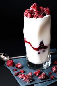 酸奶 酸甜 蔓越莓干 美食 营养健身