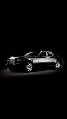 劳斯莱斯 顶级轿车 豪车 黑色