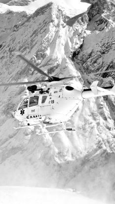 直升飞机 黑白 螺旋桨 飞行 航空