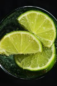青柠 柠檬苏打 饮料 汽水 饮品