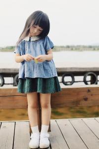刘楚恬 小美女 长发 可爱 萌宝