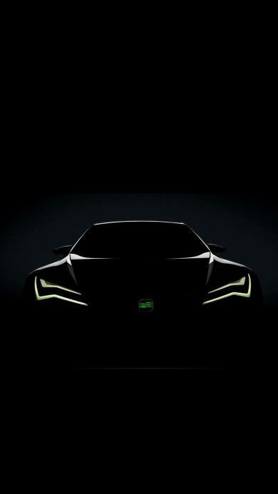 黑色炫酷汽车创意设计