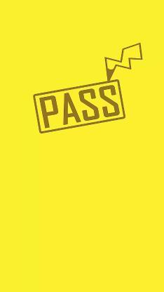 皮卡丘 创意 黄色 pass