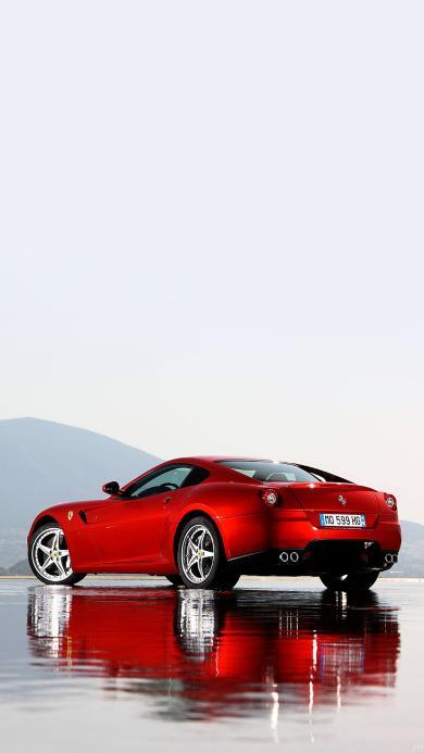 法拉利GTB Fiorano 双门 红色 超跑 赛车 跑车